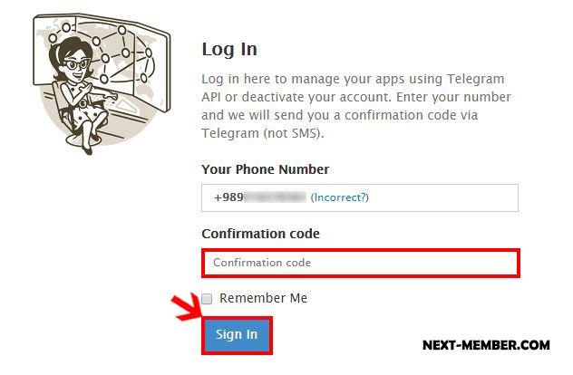 آموزش حذف کردن اکانت تلگرام Delete Account Telegram