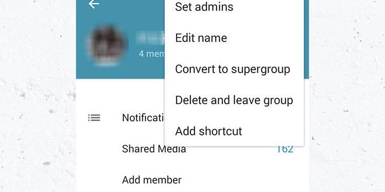 تبدیل گروه معمولی به سوپر گروه در تلگرام Telegram